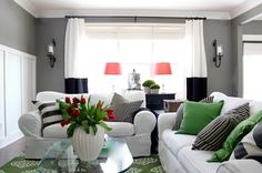 Spring refresh from The Yellow Cape Cod. http://www.theyellowcapecod.com/2015/03/my-living-room-re-fresha-new-look-for.html