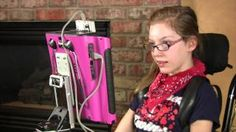 Assistive Technology in Action – Meet Elle she uses her dynavox that helps her express her feelings. Assistive Technology in Action – Meet Elle she uses her dynavox that helps her express her feelings. Assistive Technology, Educational Technology, Multiple Disabilities, Learning Disabilities, Elle Us, V Max, Cerebral Palsy, Communication System, Special Education Teacher