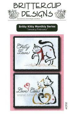 Buy Chilly Paws and Love Cats Chart online at sewandso.co.uk
