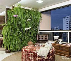 Resultado de imagem para jardins verticais internos e pequenos