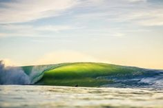 Baja. Photo Rick Avena. I wish I could ride that wave right now,