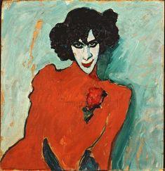 Stock Photo: 4266-30102 Alexander Sakharoff by Javlensky, Alexei, von (1864-1941) / Stadtische Galerie im Lenbachhaus, Munich / 1909 / Russia / Oil on canvas / Portrait / 69,5x66,5