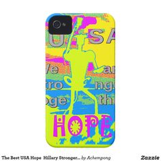 The #Best USA Hope  Hillary Stronger Together american presidential election 2016, for president, campaign #Stronger Together #Electronics Gifts