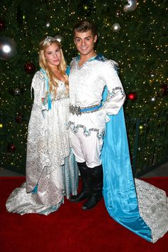 ARCADIA, CA - DECEMBER 14: Actress Emma Degerstedt (L) and actor Garrett Clayton attend the Westfield Santa Anita Free Winter Wonderland Party at Westfield Santa Anita on December 14, 2014 in Arcadia, California. (Photo by Imeh Akpanudosen/Getty Images for Westfield) — at Westfield Santa Anita.
