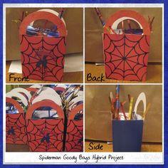 Spiderman Birthday Party Goodies Bag Kids Birthday