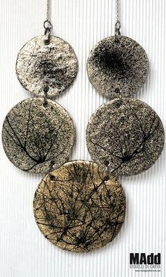 MAdd Gioielli di carta / MAdd Paper jewels: RICE NECKLACES / COLLANE IN RISO