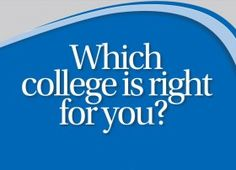 """Choosing the right college is an incredibly individual decision. What's important for one student may not be important for another student. There are certainly guidelines to be followed — selectivity, price, location, and quality among them — but the final decision will come down to this: """"Which college suits MY needs?"""" We can't tell you which co..."""