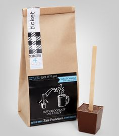 HOT COCOA ON A STICK ----- how cool is that ?? great shape and comes with its own stick !!!