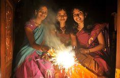 Diwali's lights and colors - The Washington Post