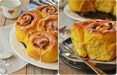 Cinnamon pumpkin rolls http://pichalafraise.over-blog.com/article-cinnamon-pumpkin-rolls-111018074.html
