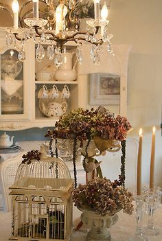 girlyme:    Fall Table (by Cindy)    source