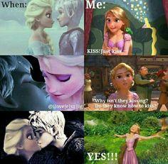 YES!!! Jelsa!!! Jackunzel is nothing!