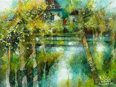 Eric Laurent watercolors #watercolor jd