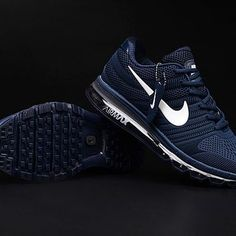detailed look 3890e e7b04 Buying Nike Air Max 2017 Dark Blue White Logo Men Shoes Online is Always  Beneficial Reasons For Choosing Nike Air Max 2017 Dark Blue Shoes.