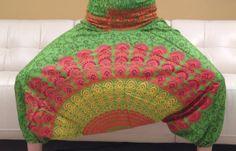 Yoga Harem Pants  Block printed in sun pattern by theBilvatree, $17.99 Festival Clothing, Festival Outfits, Yoga Harem Pants, Sun, Sewing, Trending Outfits, Printed, Crochet, Handmade Gifts