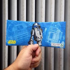 This is the #mightywallet you are looking for! Now you can carry your very own #R2D2 with you in your pocket everyday! Who's going to #NYCC next week? We can't wait to see all you #starwarsfans and #starwarsnerds come visit us in booth 505. #Artoo #Droid #Tyvek #GeekChic #starwarsgeek #StarWars