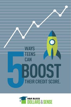 Thinking about #credit? Here are 5 tips on how you can help your teen maintain a high #CreditScore. #FinLit