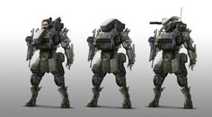 Infantry by StTheo.deviantart.com on @DeviantArt