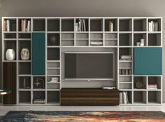 Lacquered storage wall SPEED Z Speed Collection by Dall'Agnese   design Imago Design, Massimo Rosa