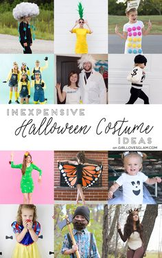 Inexpensive Halloween Costume Ideas