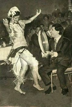 Baladi danse...Najwa Fouad et Abdelhalim Hafez..Egypte