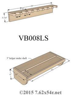 Vertical Wall Gun Racks