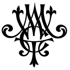 Initials - have a custom monogram created for stationary