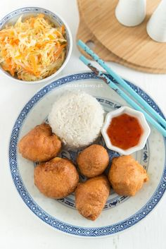 Mirabelkowy blog: Kurczak w cieście kokosowym