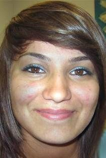 """PRISCILLA SCALISE 15, BELL GARDENS, CALIFORNIA,  04/21/11  SEX:  Female  RACE:  Hispanic  HAIR:  Black  EYES:  Brown  HEIGHT:  5'02"""" (157 cm)  WEIGHT:  120 lbs (54 kg)  PIERCED ears, tongue    CONTACT:  Bell Gardens Police Department 562-806-7603  NCMEC 1-800-THE-LOST"""