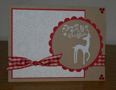 CCC12 February Card #1 Dasher by shelia - Cards and Paper Crafts at Splitcoaststampers