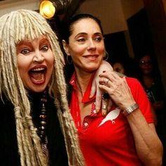 regram @christianetorlonimemorias Morre no Rio a atriz Elke Maravilha. Descanse em Paz  #christianetorloni #elkemaravilha #luto #descanseempaz #atrizes #luz