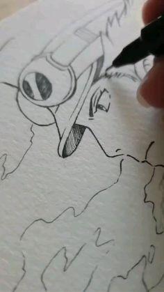 Manga Art, Anime Art, Celtic Dragon Tattoos, Studio Ghibli Art, Kawaii Doodles, Digital Art Tutorial, Cool Art Drawings, Anime Sketch, Art Reference Poses