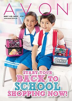 Avon is your one-stop-shop for a stylish school year! Kids and teens will love Avon's fun prints and functional designs, a perfect fit for the campus fashionista! Visit www.avon.com.ph for  these and other great back-to-school products!
