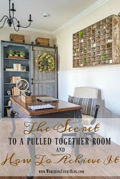 The Secret To A Pulled Together Room And How To Achieve It    Worthing Court