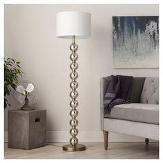 Stacked Ball Floor Lamp - Mercury Glass - Threshold™ : Target