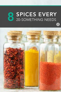 Every 20-Something Needs These Spices  #kitchen #spices