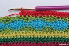 Teil 7 Reihe 1 crochet along - schoenstricken.de