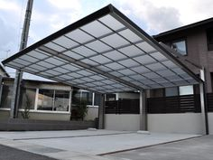 Self-confident guided porch design sunglasses Like us Aluminum Patio Awnings, Carport Canopy, Porch Kits, General Construction, Carport Designs, Building A Porch, Home Improvement Loans, Marquise, Parking Design