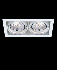 Delta Light - Grid In 2 QR als Wandeinbaulampe / Einbau-Downlight / Deckeneinbaulampe. Direkt online bestellen. Ausführungen: aussen aluminium-grau / innen schwarz, aussen + innen aluminium-grau, aussen + innen weiß. Alle Infos & Preise.
