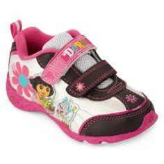 Dora Girls athletic sneakers.