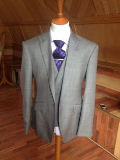 Men's bespoke three piece suit tailor made by by DanielandLade, £499.00