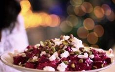Look at this recipe - Siba's Beetroot and Feta Cheese Salad - from Siba Mtongana and other tasty dishes on Food Network. Healthy Eating Recipes, Cooking Recipes, Cooking Videos, Sibas Table Recipes, Cheese Salad, Vegetable Salad, Beetroot, Soup And Salad, Tasty Dishes