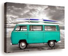 one day Mikel, Hilary, and I will take our surfing road trip in a bus like this!