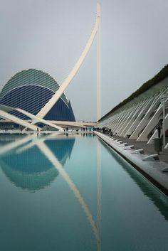 Parque oceanográfico + l'umbracle Ciudad de Las Artes Y Las Ciencias, Valencia, España