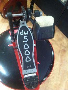 DW 5000 Series Single Kick Drum Pedal Drum Workshop Bass Kick #DrumWorkshop