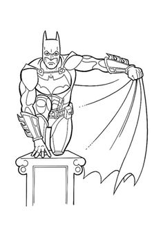 We got a cool collection of Batman coloring pages. Batman is a hero goodness against evil monsters. He vigorously fight crime, I hope the kids love to see Batman Superhero Coloring Pages, Spiderman Coloring, Cartoon Coloring Pages, Animal Coloring Pages, Coloring Pages To Print, Coloring Book Pages, Printable Coloring Pages, Coloring Pages For Kids, Kids Coloring