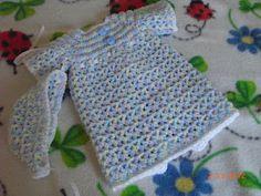 V-Stitch Preemie Gown free crochet pattern