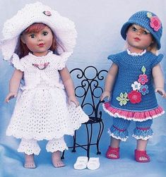 American Girl Doll crochet inspiration.