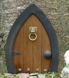 Gnome doors Fairy Doors Faerie Doors Elf Doors 12 by NothinButWood