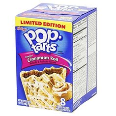 Kelloggs PopTarts Frosted Cinnamon Roll Toaster Pastries 8 ct ** Click on the image for additional details.